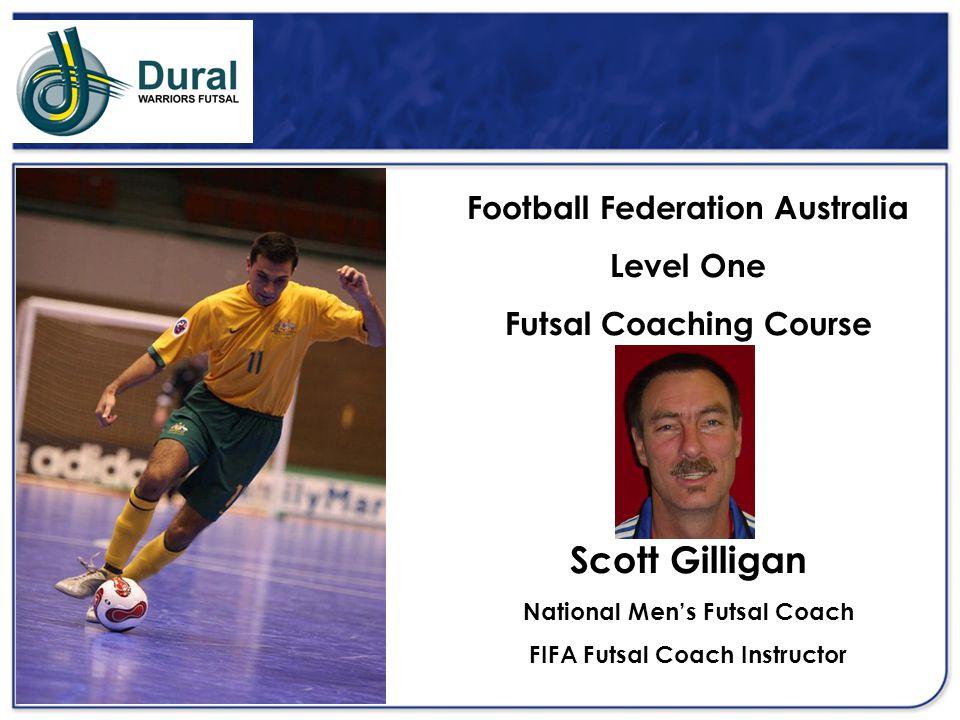 Scott Gilligan Football Federation Australia Level One