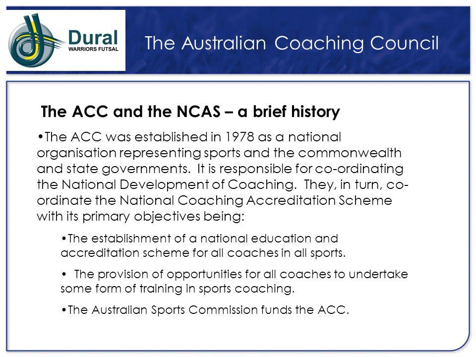 The Australian Coaching Council