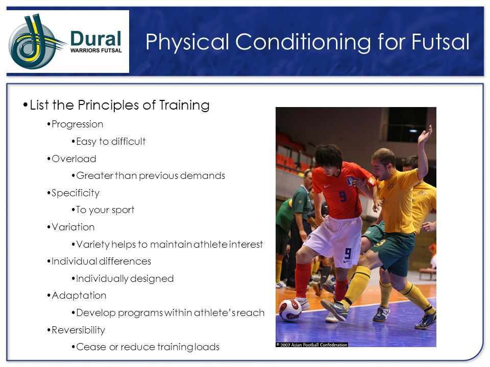 Physical Conditioning for Futsal