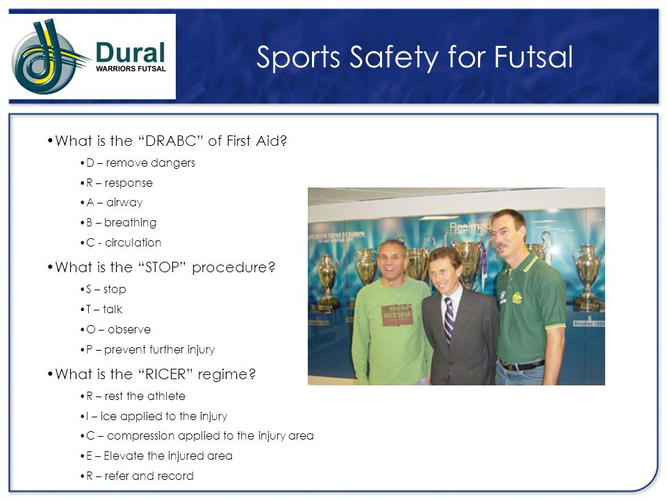 Sports Safety for Futsal