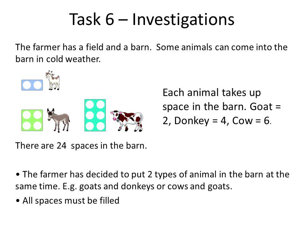 Task 6 – Investigations