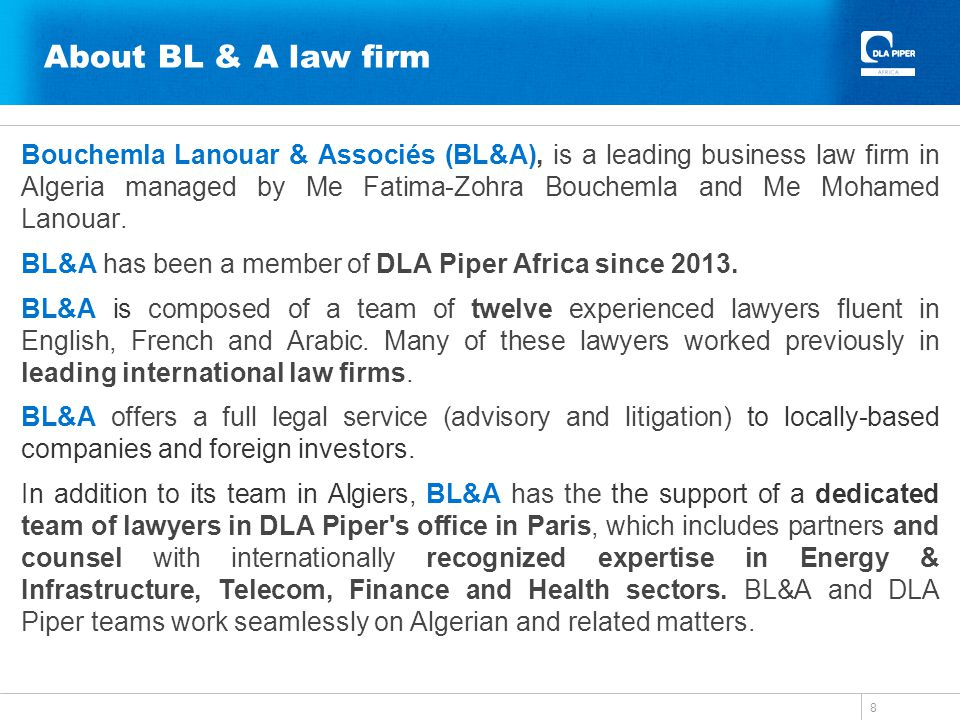 About BL & A law firm