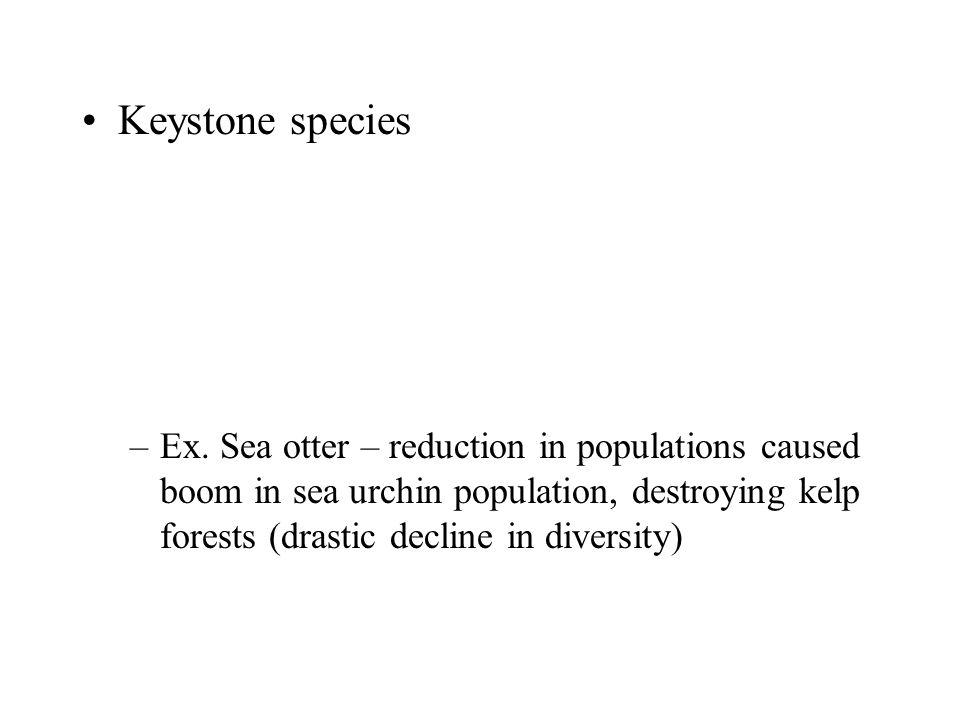 Keystone species