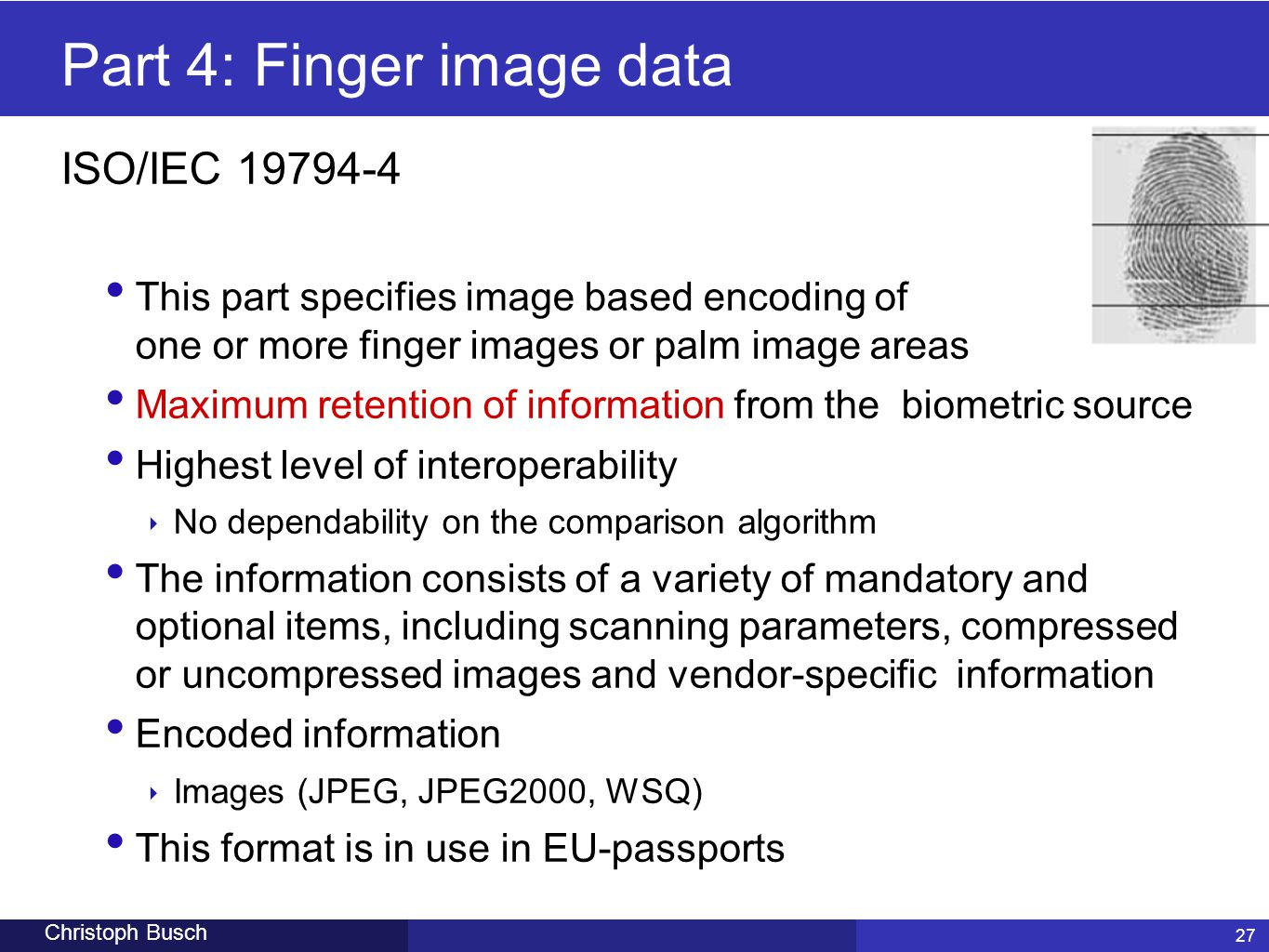 Part 4: Finger image data