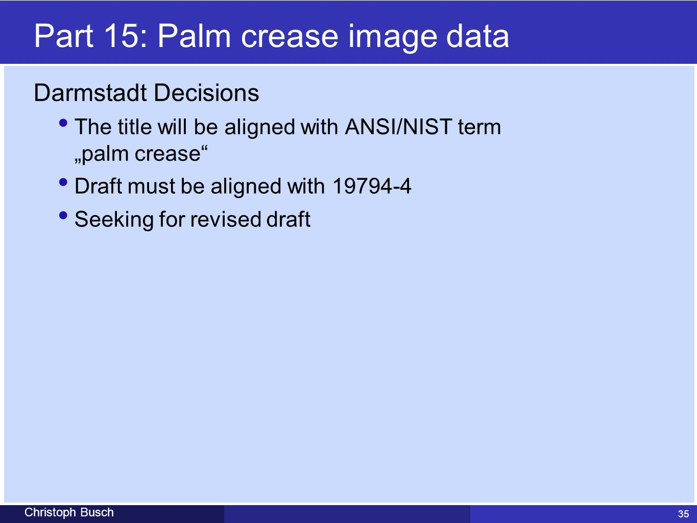 Part 15: Palm crease image data