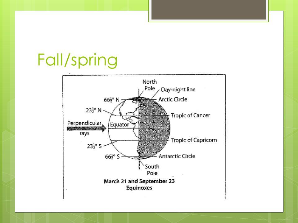 Fall/spring