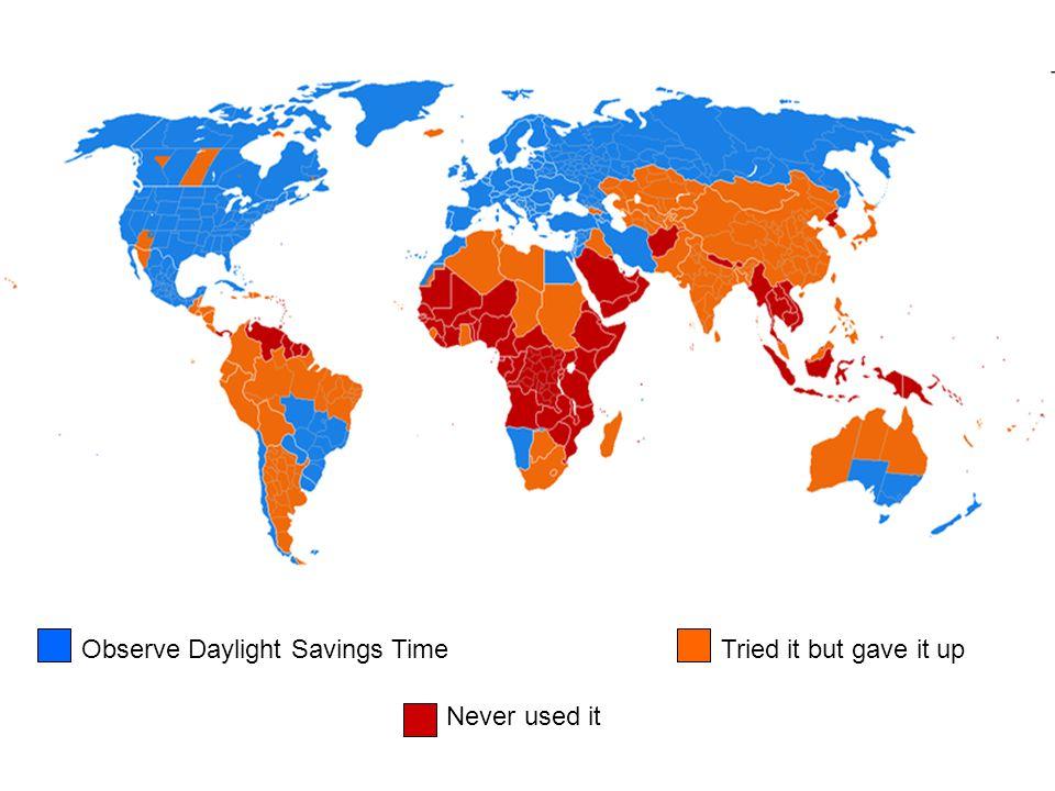 Observe Daylight Savings Time
