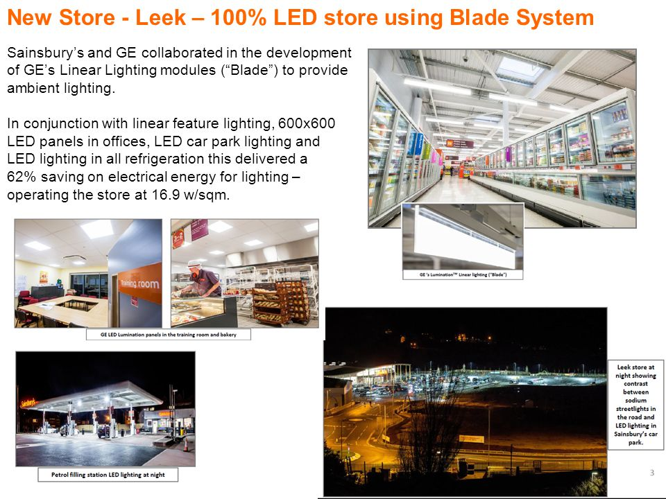 New Store - Leek – 100% LED store using Blade System