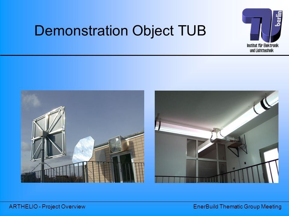 Demonstration Object TUB