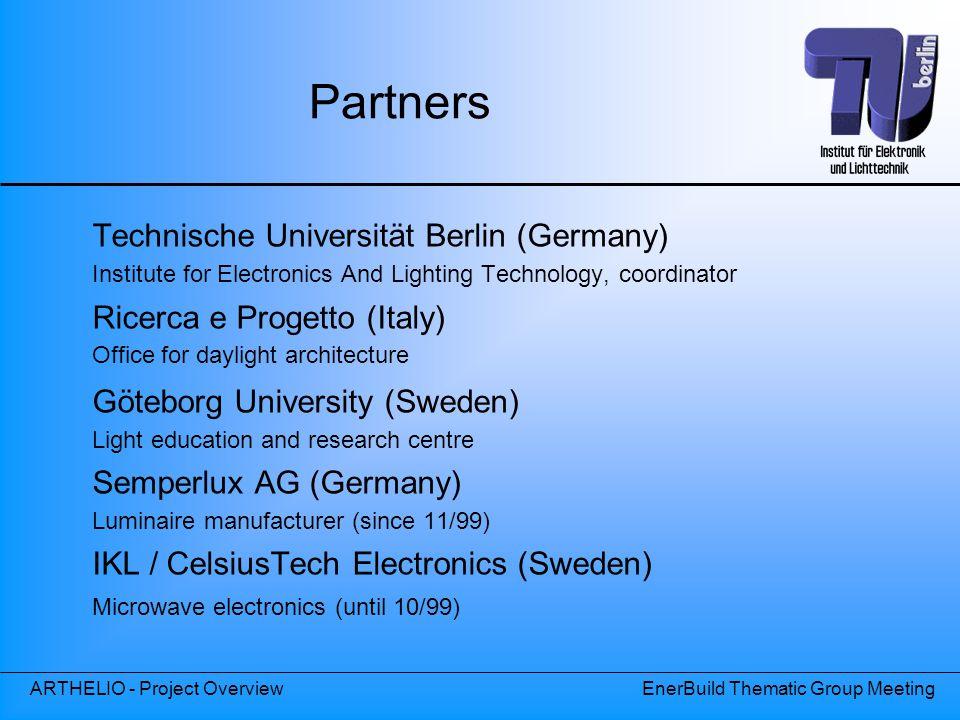 Partners Technische Universität Berlin (Germany)