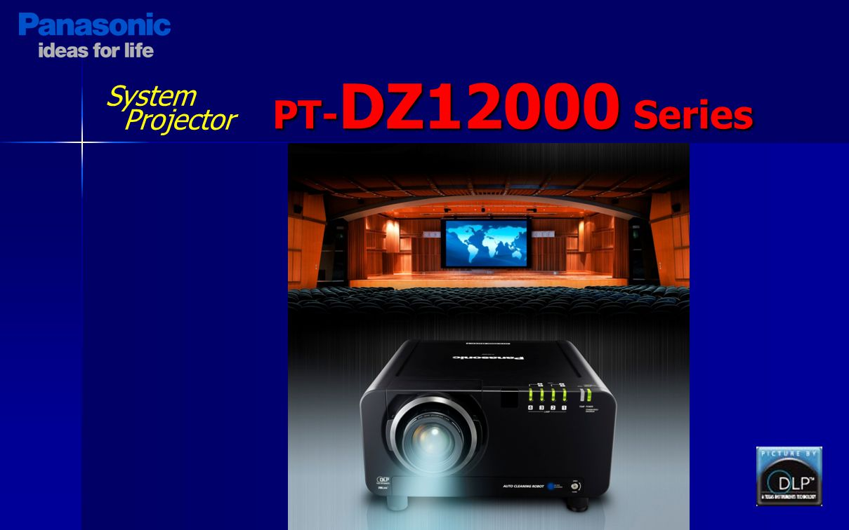 System Projector PT-DZ12000 Series