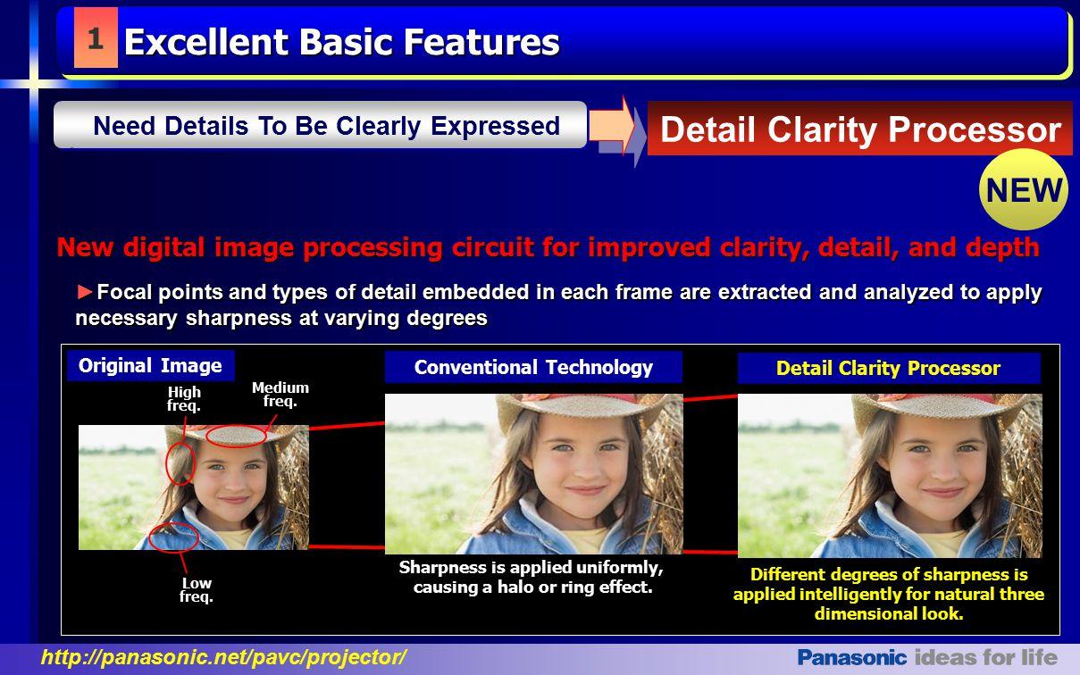 Detail Clarity Processor