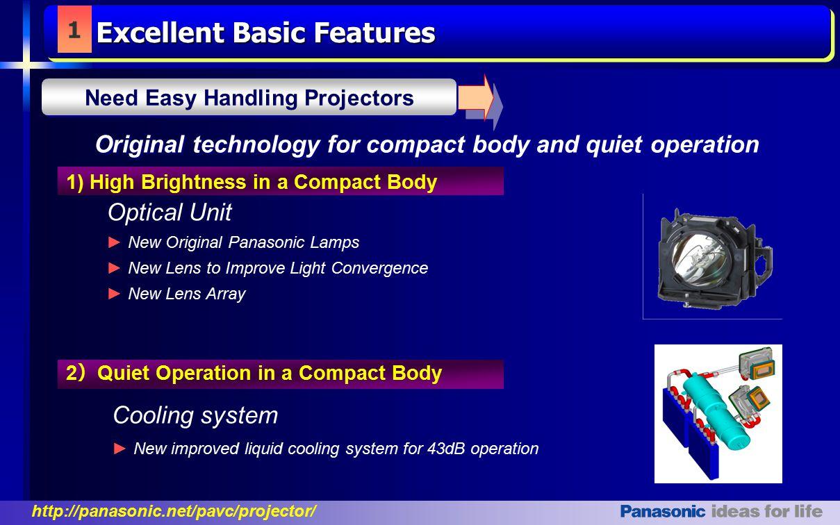 Excellent Basic Features