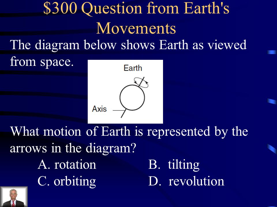 $300 Question from Earth s Movements