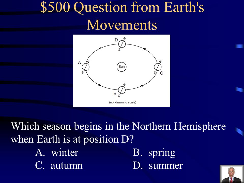 $500 Question from Earth s Movements