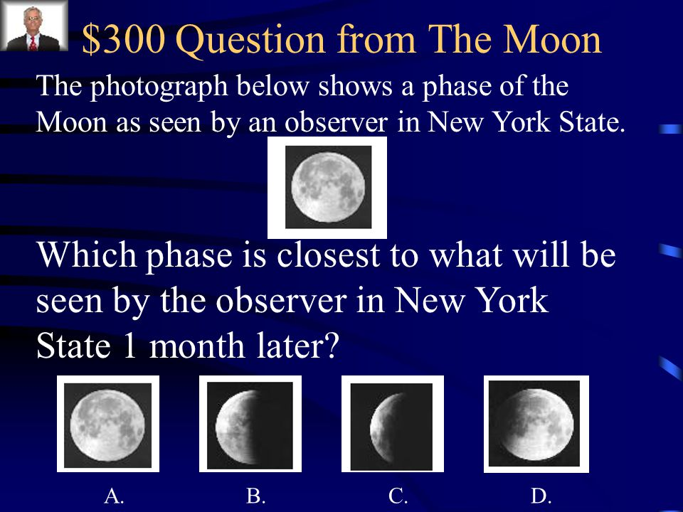 $300 Question from The Moon