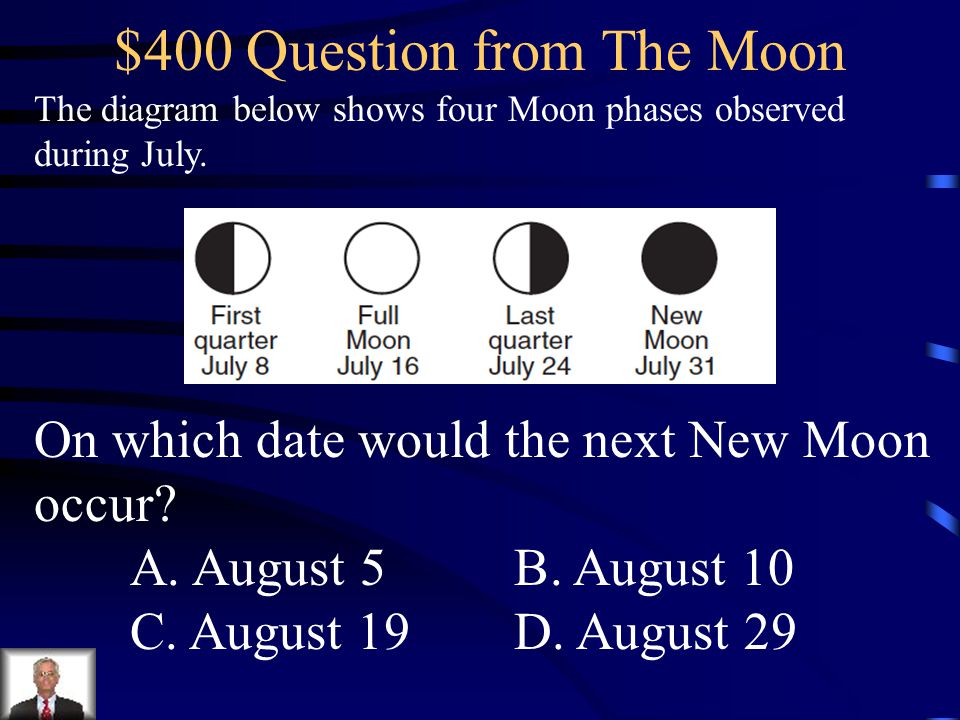 $400 Question from The Moon