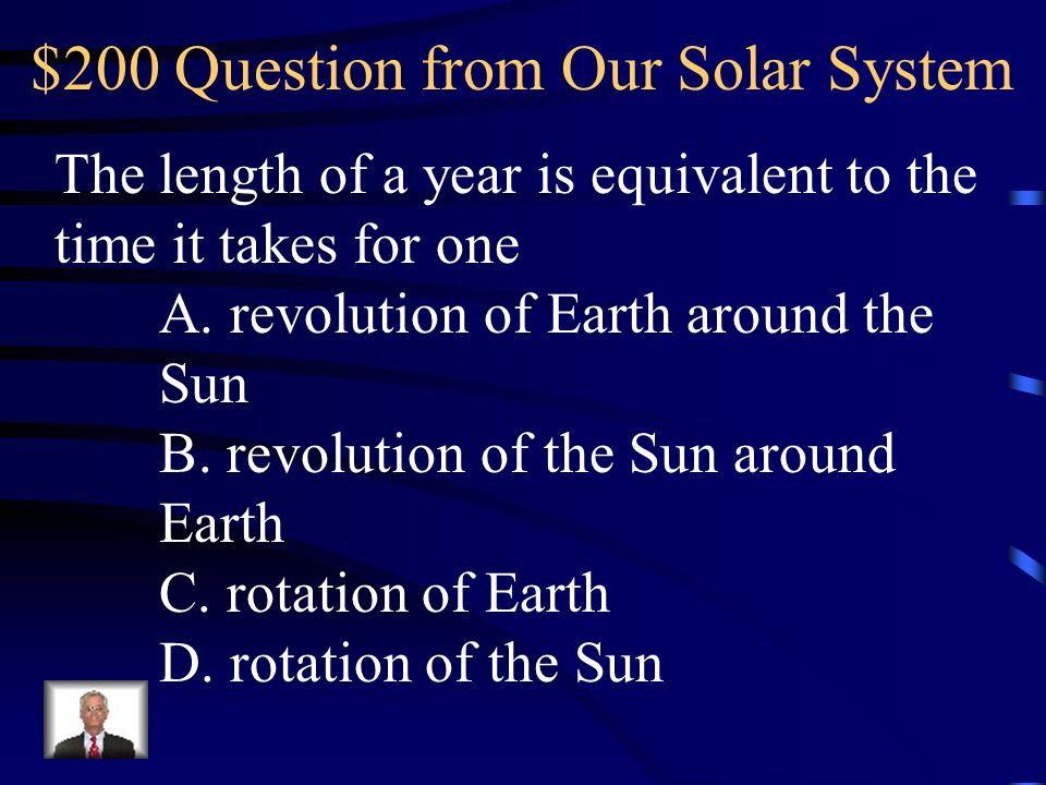 $200 Question from Our Solar System