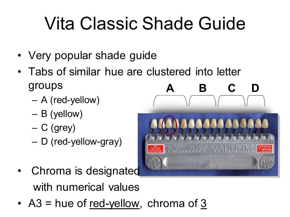 Vita Classic Shade Guide