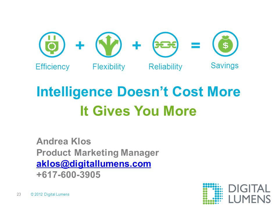Intelligence Doesn't Cost More