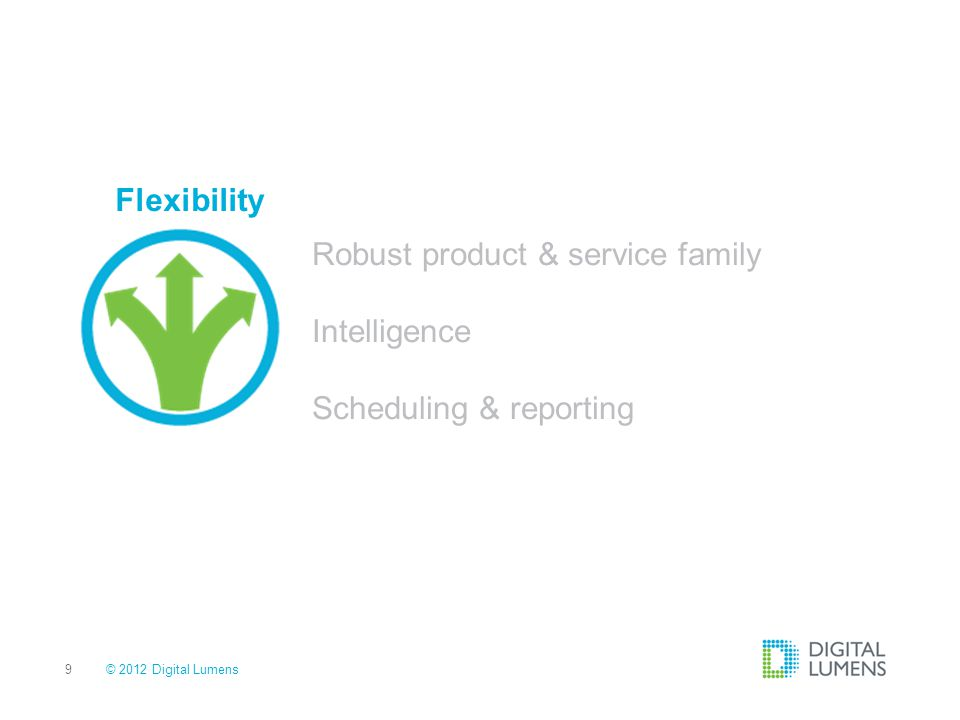 Robust product & service family Intelligence Scheduling & reporting
