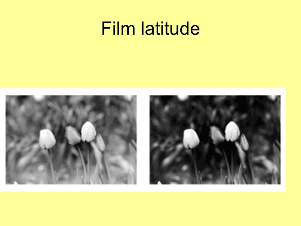 Film latitude