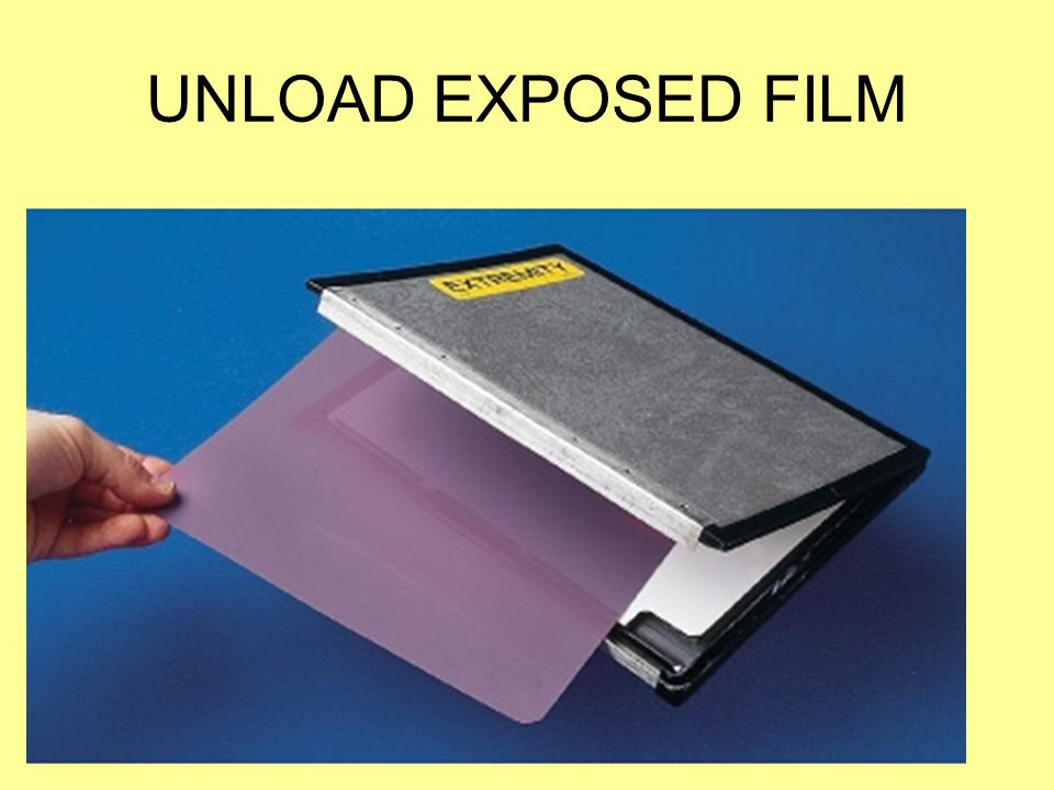 UNLOAD EXPOSED FILM