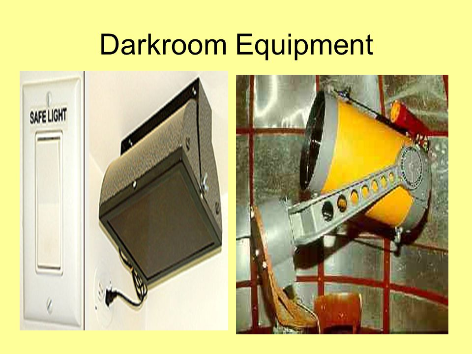 Darkroom Equipment