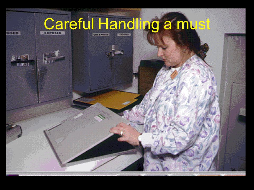 Careful Handling a must