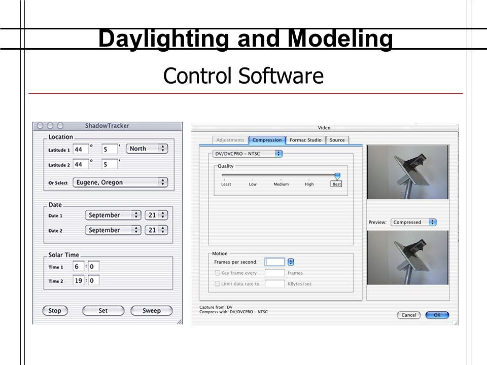 Daylighting and Modeling