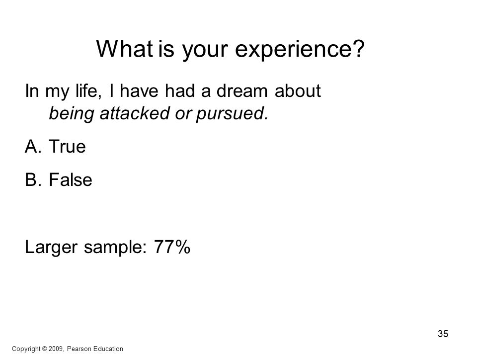 What is your experience