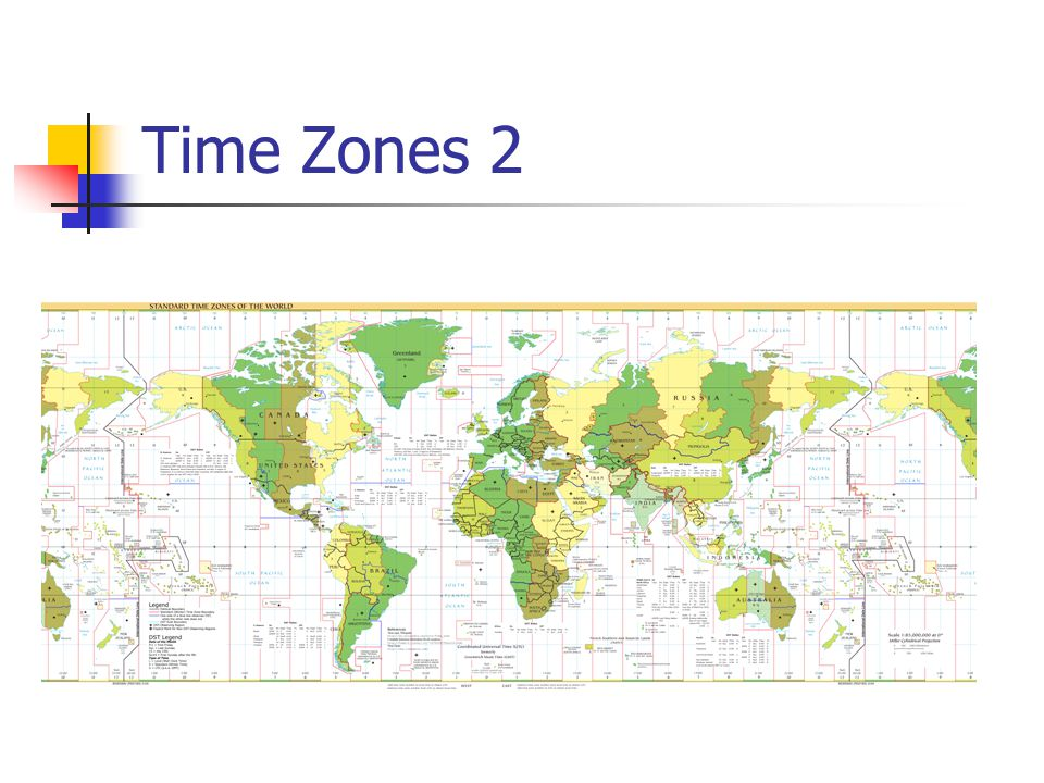 Time Zones 2