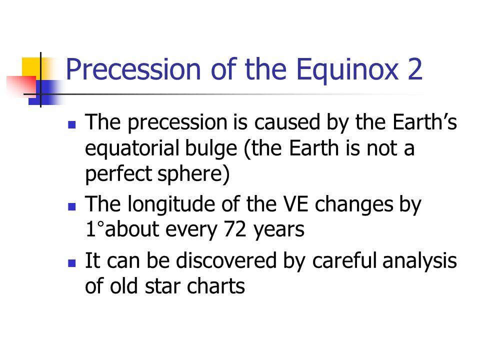 Precession of the Equinox 2