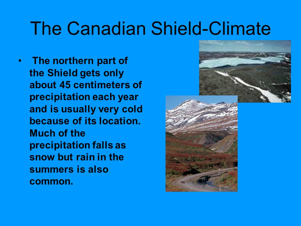 The Canadian Shield-Climate