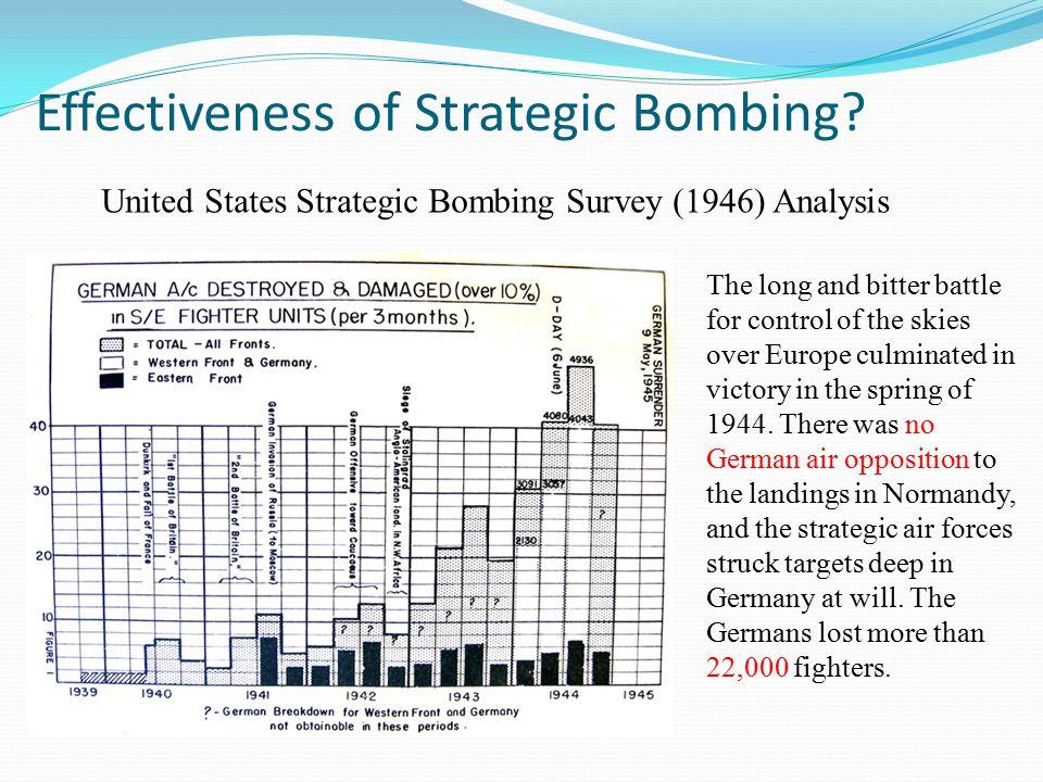 Effectiveness of Strategic Bombing