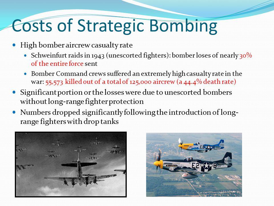 Costs of Strategic Bombing