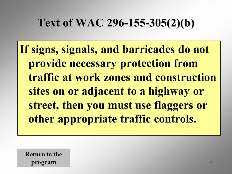 Text of WAC 296-155-305(2)(b)