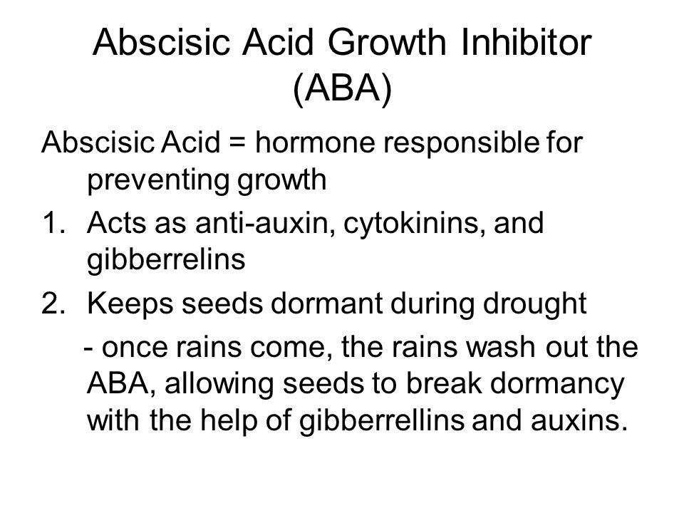 Abscisic Acid Growth Inhibitor (ABA)