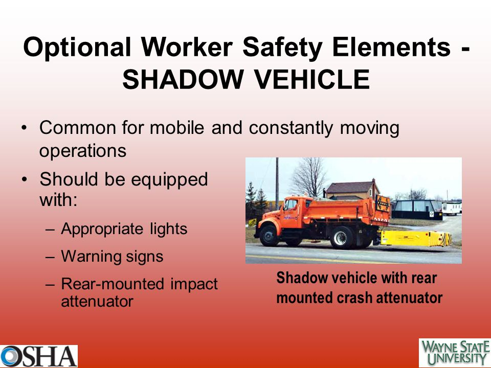 Optional Worker Safety Elements -