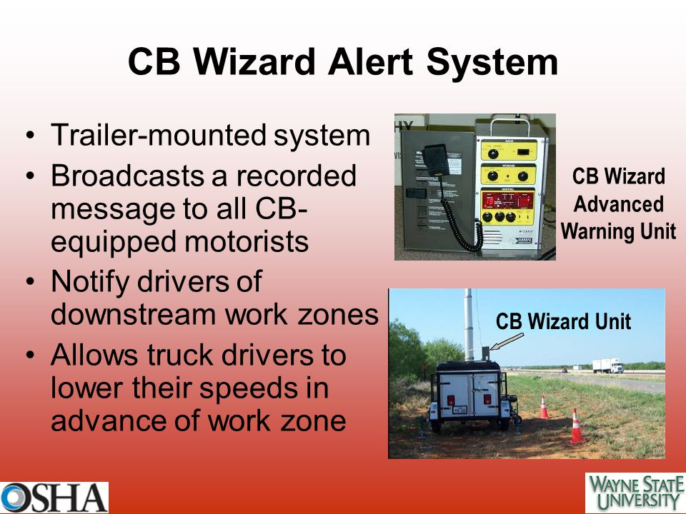 CB Wizard Advanced Warning Unit