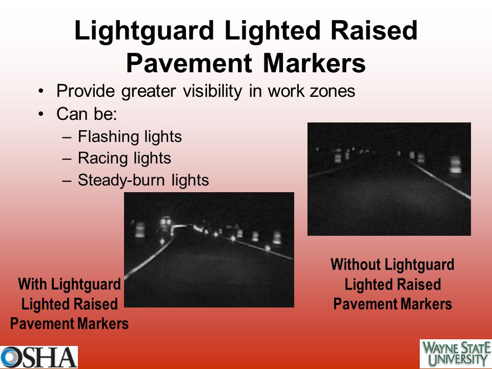 Lightguard Lighted Raised Pavement Markers