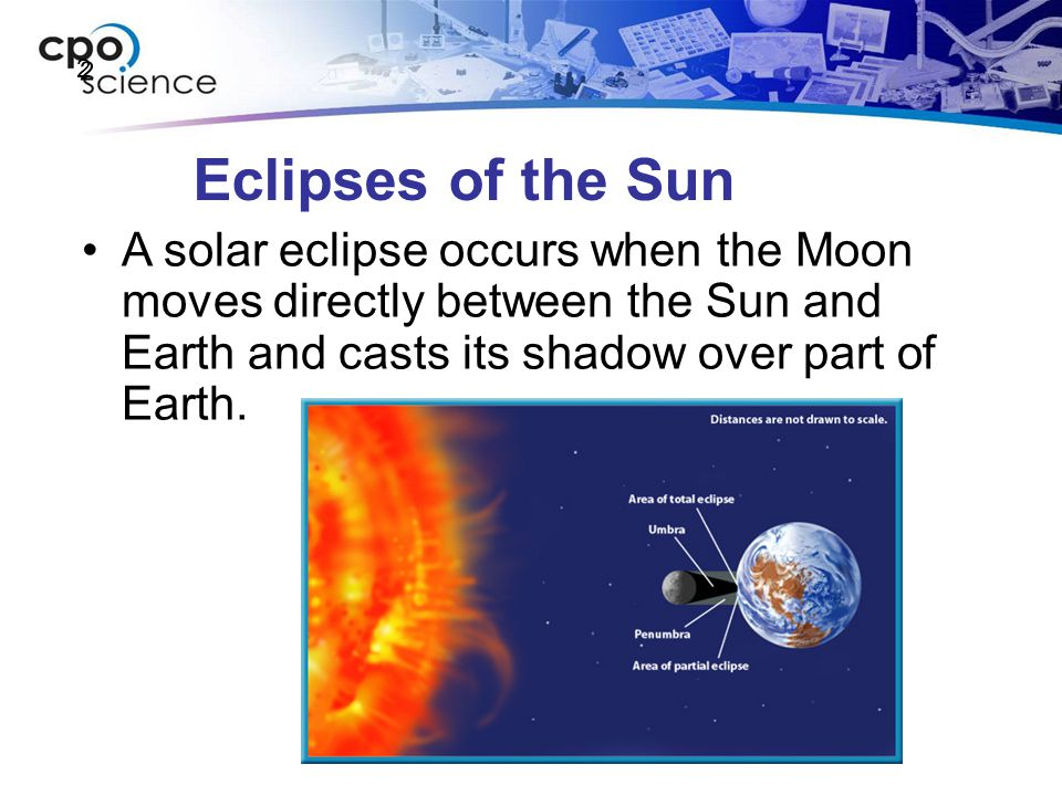 2 Eclipses of the Sun.