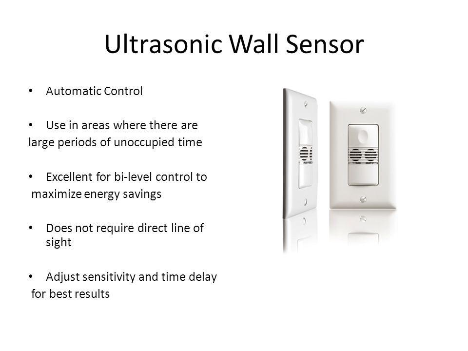 Ultrasonic Wall Sensor