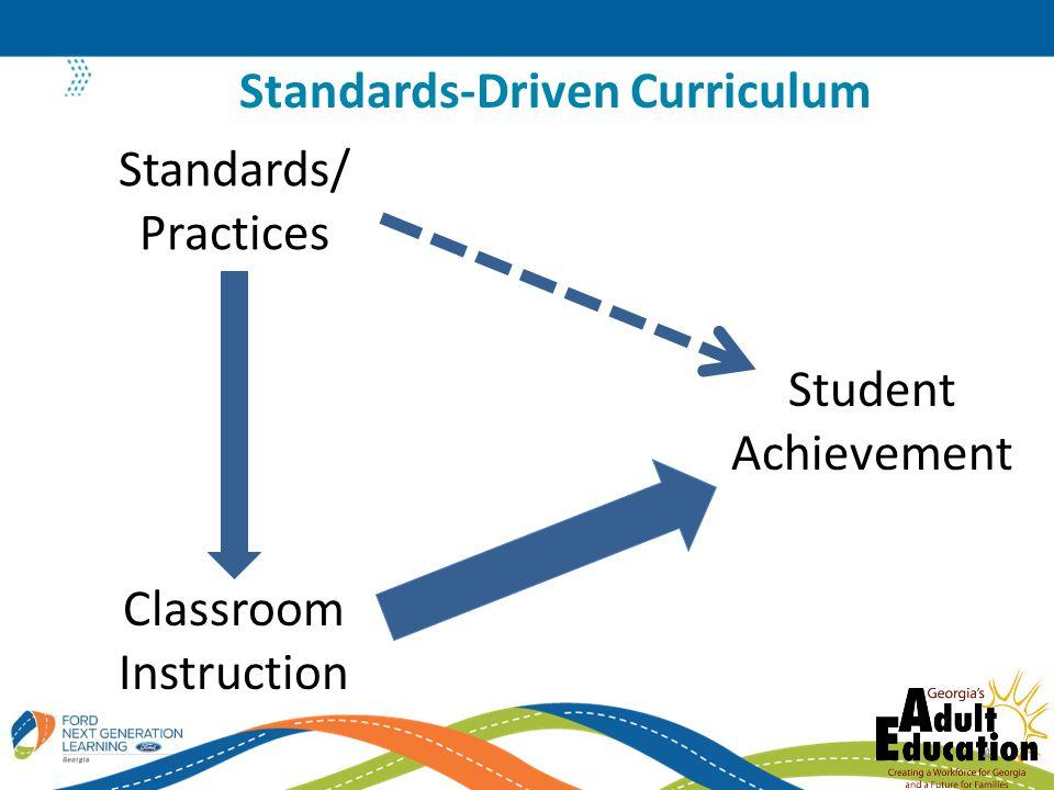 Standards-Driven Curriculum