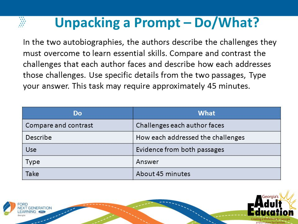 Unpacking a Prompt – Do/What