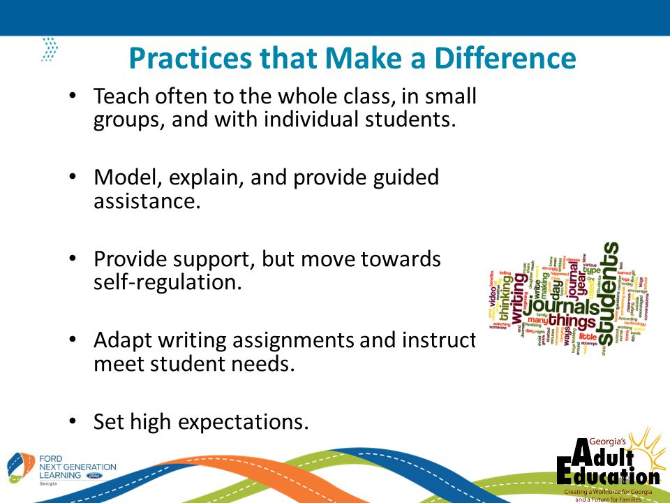 Practices that Make a Difference