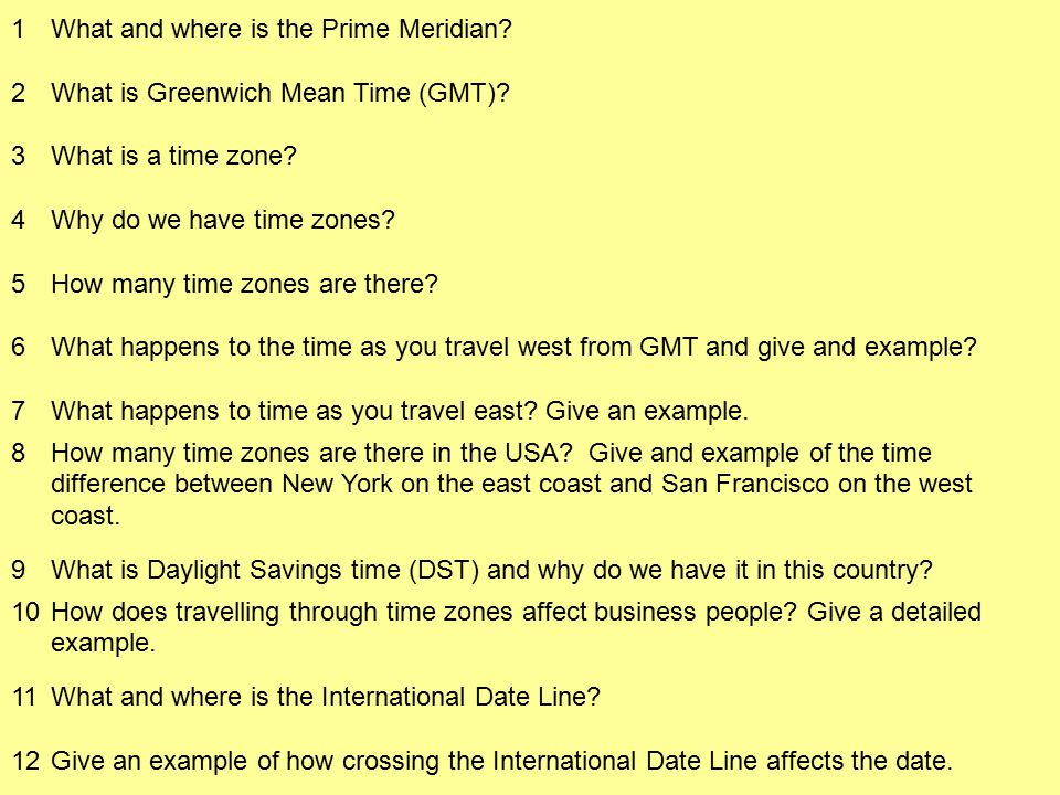 1 What and where is the Prime Meridian