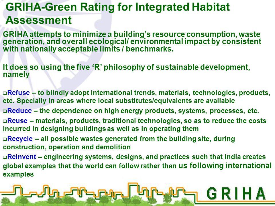 GRIHA-Green Rating for Integrated Habitat Assessment
