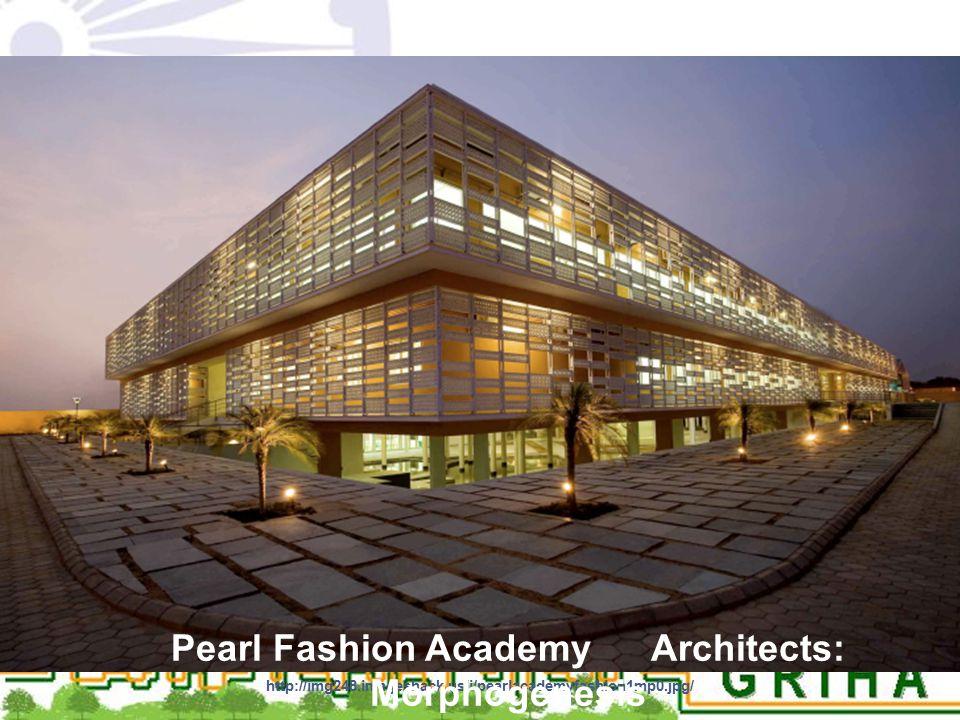 Pearl Fashion Academy Architects: Morphogenesis