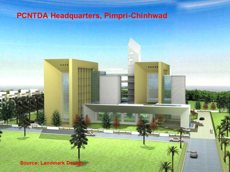 PCNTDA Headquarters, Pimpri-Chinhwad Source: Landmark Design